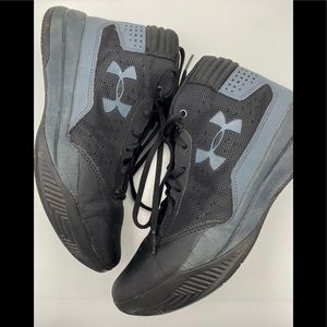Youth Under Armour Black Sneakers